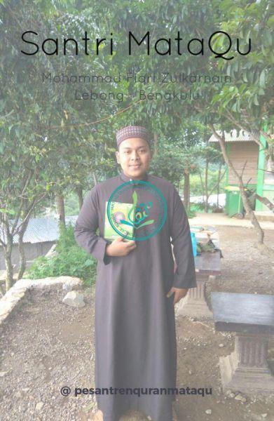 Foto Mohammad Fiqri Zulkarnain, 18 tahun, Lebong, Bengkulu