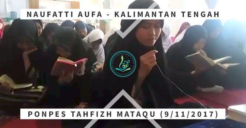 Naufatti Aufa, 16 tahun, Kalimantan Tengah
