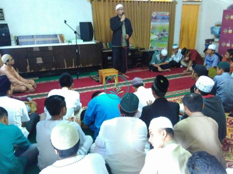 Motivasi dan tausiyah dari Ust. Abu Faruq, Ketua Yayasan Kampung Qur'an MataQu