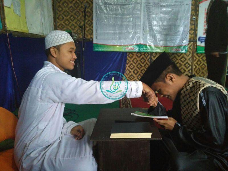Ega Saluja (kanan), asal Naggroe Aceh Darussalam