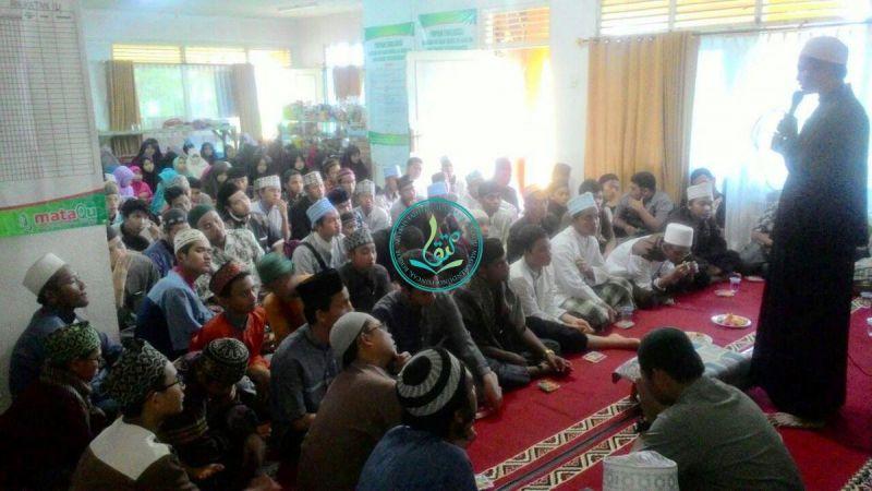 Kata Sambutan Dari Ketua Pesantren Tahfizh Al Quran MataQu, Ust. As'ad Humam Lc. Al Hafizh