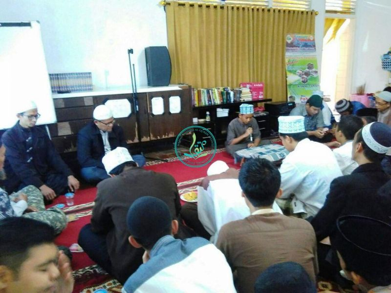 Pembacaan ayat suci Al Quran oleh santri Pesantren Tahfizh Al Quran MataQu