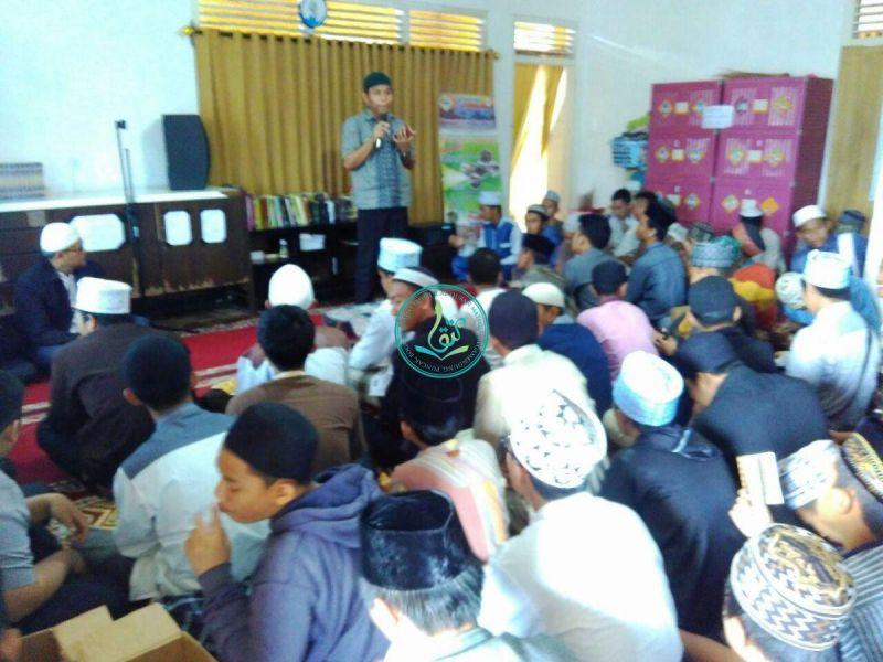 Moderator Acara Pembukaan Dauroh Quran, Ust. Hakim