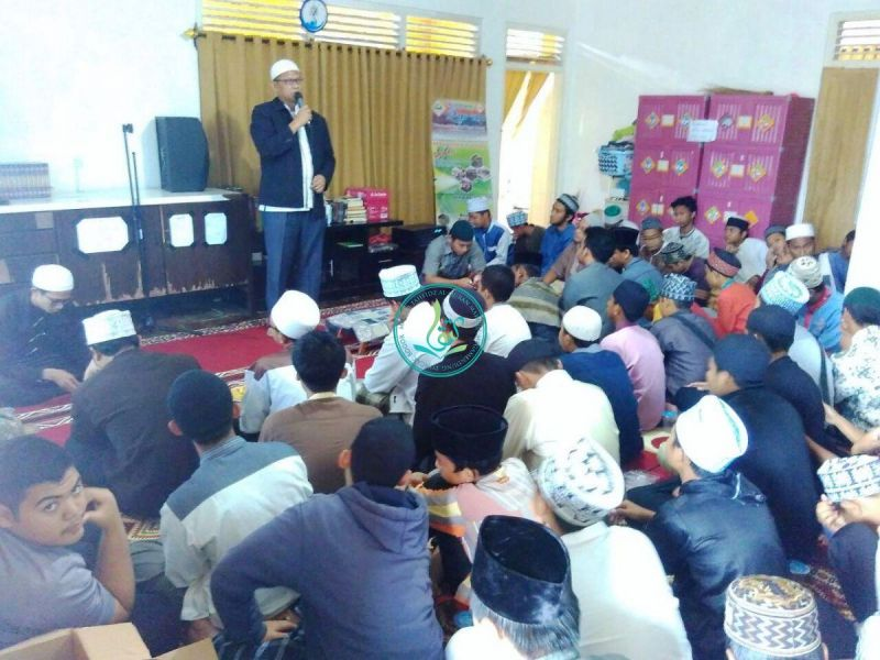 Kata Sambutan Dari Pembina Yayasan Kampung Quran MataQu, Ust. Abu Faruq, Al Hafizh