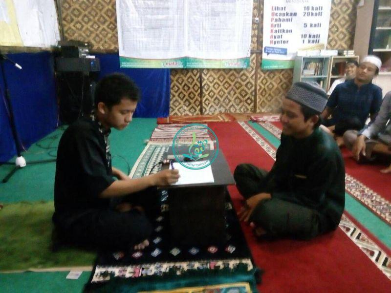 Muhammad Al-Mubarok (kanan), 16 tahun, asal Tarakan, Kalimantan Utara