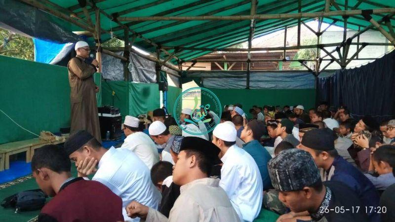 Kata Sambutan Dari Pembina Yayasan Kampung Quran MataQu, Ust. Abu Faruq