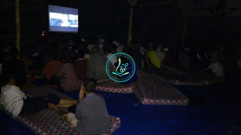 Kegiatan Nobar Para Santri Putra (15/7/2017)