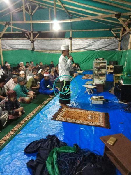 Ananda Ghifari Tasnim Pada Pelatihan Adzan Sekaligus Seleksi Muadzin Masjid Al Mutqin MataQu (22/07/2017)