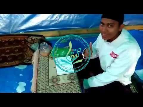 Kegiatan Menghafal Santri Putra MataQu: I/II (09/08/2017)