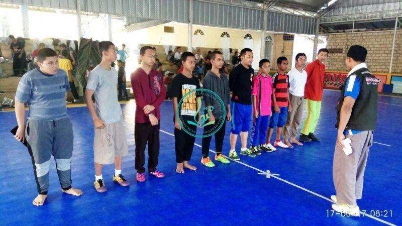 Pertandingan Futsal (Kamar 2 vs Kamar 1b)