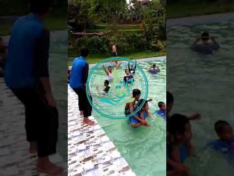 Para Santri Putra Pesantren Tahfizh MataQu Berenang Bersama (30/09/2017)