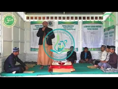 Sambutan Ust. Abu Faruq Pada Penutupan Dauroh Al Quran Angkatan 18